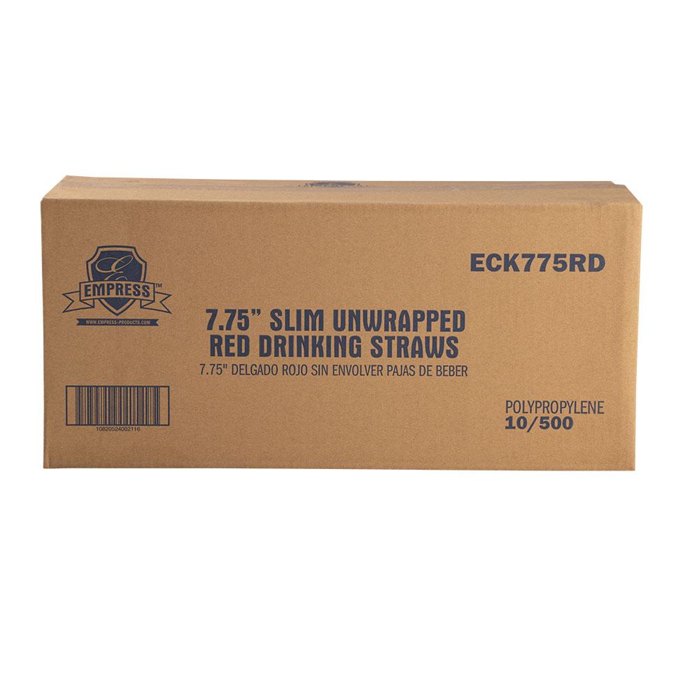 STRAW ECK775RD RED 8